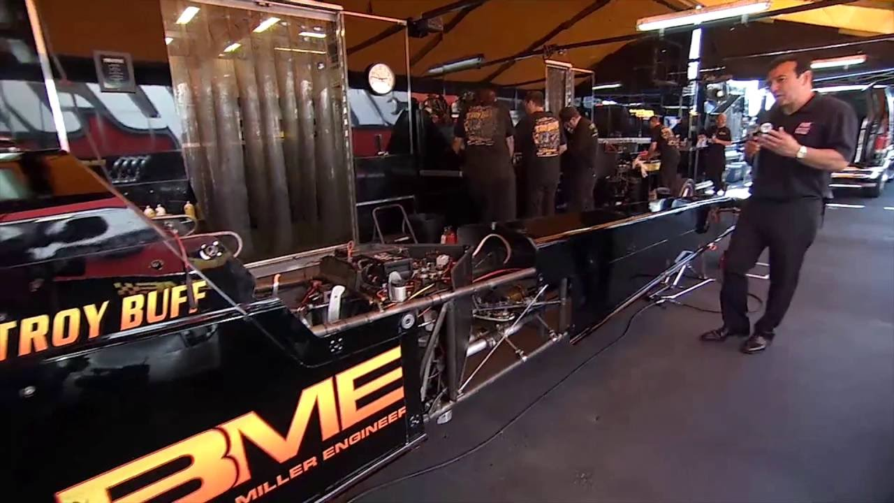 Nhra 101 How Does The Rear Wing Of A Top Fuel Dragster Impact