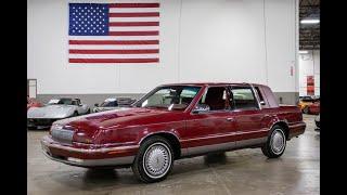 1992 Chrysler New Yorker Test Drive