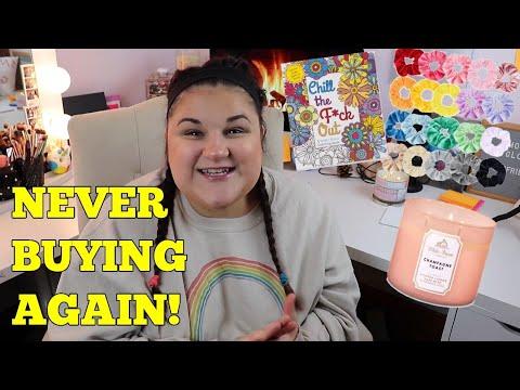 THINGS I AM NEVER BUYING AGAIN!? *Collab W/ Georgia Harris!*