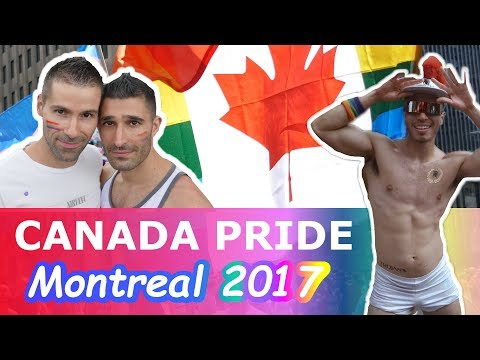 GAY TRAVEL: GAY PRIDE MONTREAL 2017 | First ever Canada Pride - VLOG