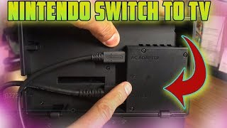How to connect a Nintendo Switch to TV via HDMI