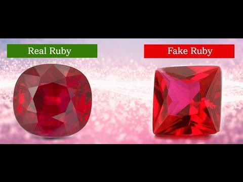 ruby common filled gemsquares rubi glass most gemstone rough treatments