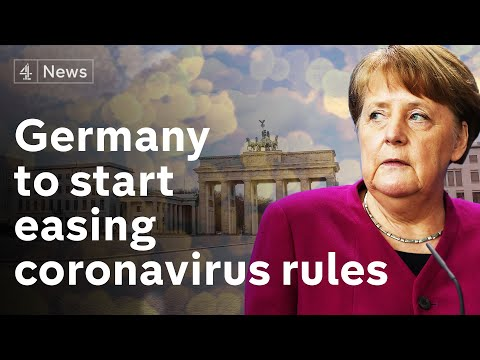 Germany will start to ease lockdown, says Angela Merkel | coronavirus