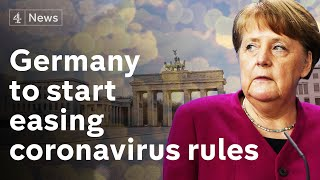 Germany will start to ease lockdown, says Angela Merkel | coronavirus