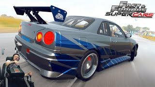 На пределе! - Nissan Skyline GTR R34 Брайана О
