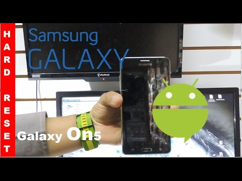 Samsung Galaxy On5 SM-G550T Hard Reset/Factory Reset
