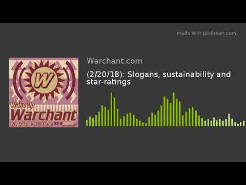 (2/20/18): Slogans, sustainability and star-ratings