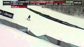X Games Aspen 2013 Aimee Fuller Run 2 Women s Snowboard Slopestyle final