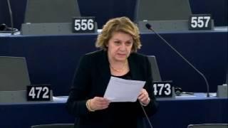 Intervento in aula di Caterina Chinnici sull'attuazione del regolamento (UE) 2017/458 per quanto riguarda il rafforzamento delle verifiche nelle banche dati pertinenti alle frontiere esterne