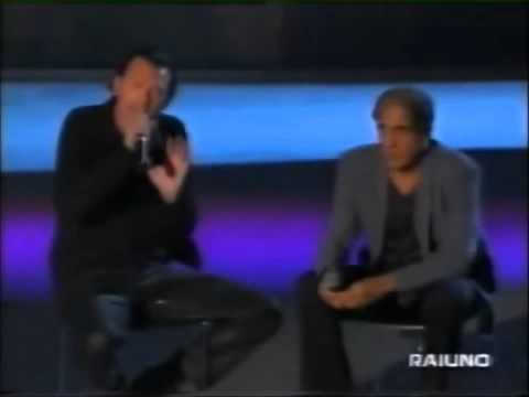 Biagio Antonacci e Adriano Celentano L'emozione non ha voce (Live 1999)