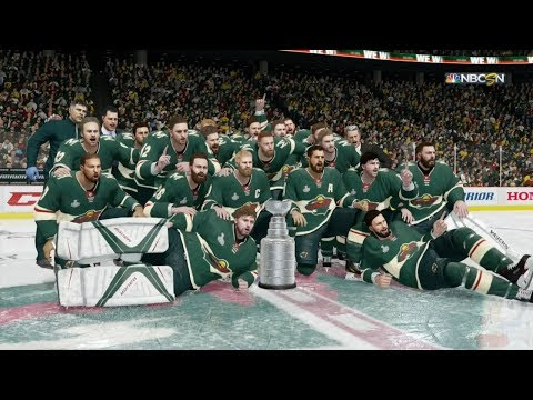 NHL 18 - Minnesota Wild Stanley Cup Celebration