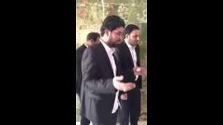 الرادود احمد الساعدي في مرقد الشهيد الصدر قدس