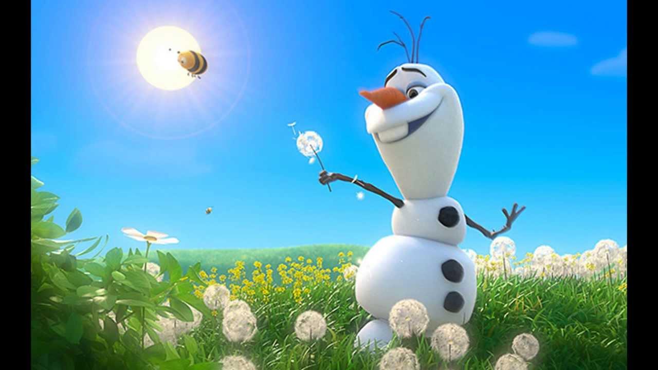 Wallpaper Primavera Hd Frozen Olaf Verano Ost Espa 241 Ol Latino Youtube