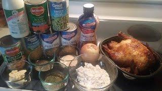 Home made Chicken Pot Pie Soup