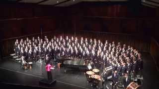 BYU Men's Chorus, Feb 2014 Concert, Baba Yetu