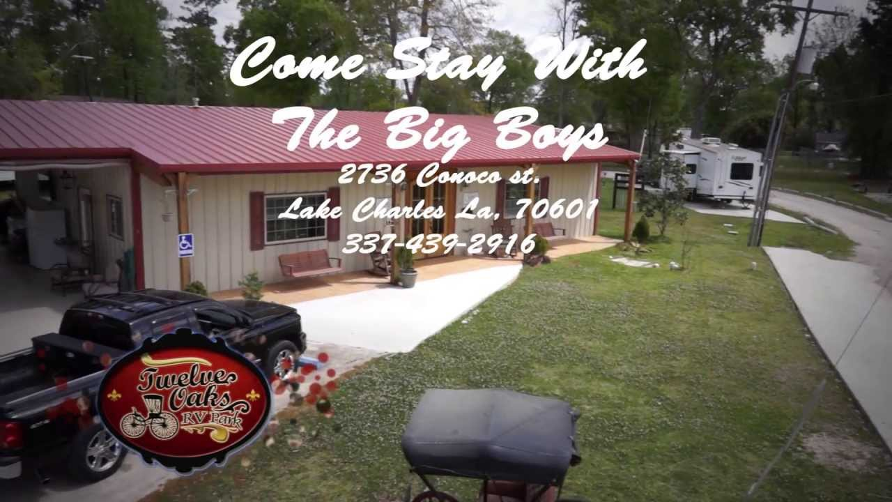 12 Oaks RV Park Lake Charles LA Louisiana Parks Camp Ground