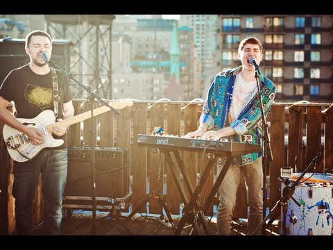 """Walk The Moon - """"Tightrope"""" (LIVE ROOFTOP SESSION)"""
