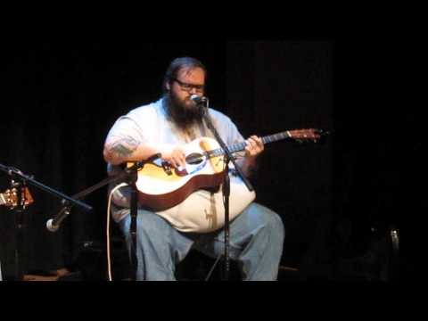 "John Moreland - ""Cleveland County Blues"" - Woody Guthrie Center - Tulsa, OK - 1/18/14"