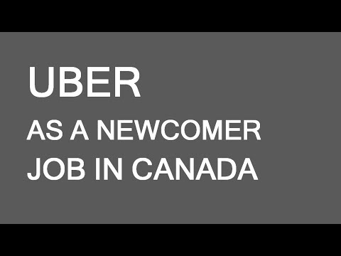 Driving Uber As An Immigrant To Canada. LP Group