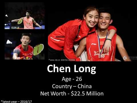 TOP 10 Highest Paid Badminton Players