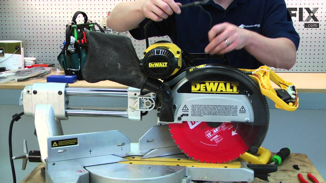 DeWALT Circular Saw Repair – How to replace the Power Cord on