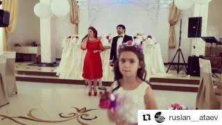 Руслан Атаев Альпият Алиева на свадьбе
