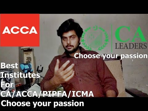 Which is the best Institute for Professional Studies CA/ACCA/PIPFA/ICMA/CMA in Pakistan