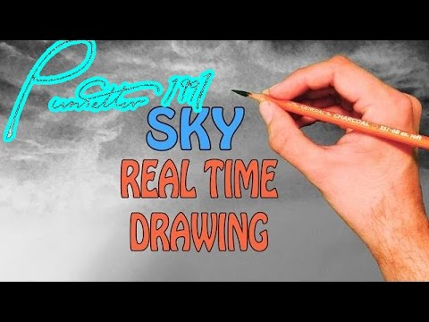 Real Time Drawing of a Landscape - SKY - Part 1