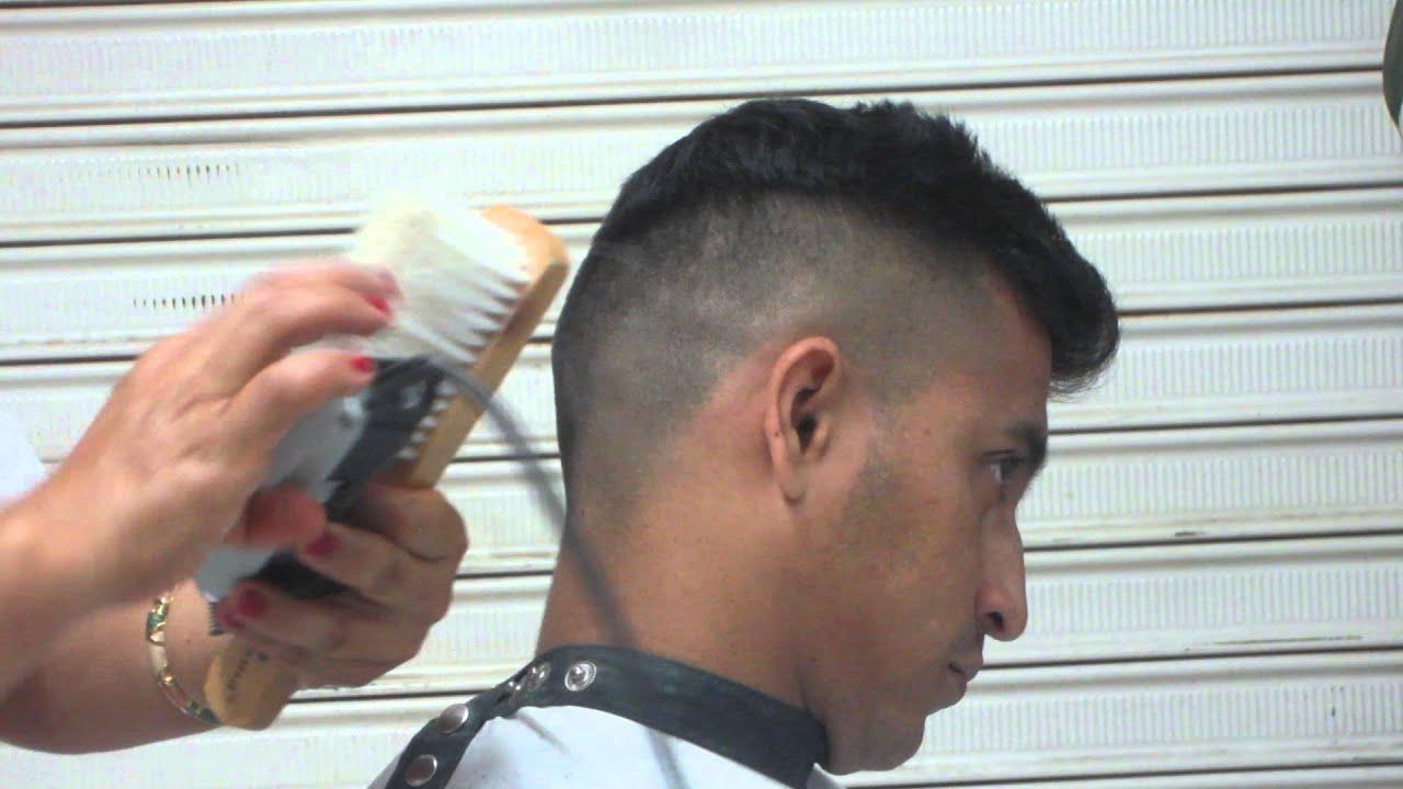 Como hacer corte de cabello tipo militar