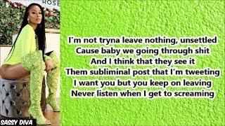 Lakeyah Danaee - Don't Go (Lyrics)