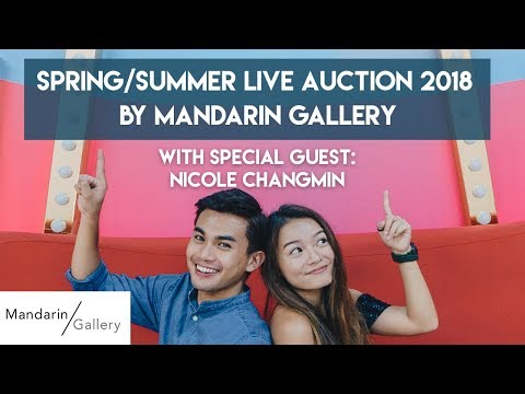 TSL x Mandarin Gallery Spring - Summer Live Auction | TSL LIVE