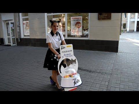 Девушка-кошка в Воронеже