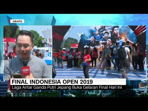 Jelang Final Indonesia Open 2019
