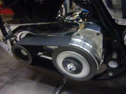 Harley Street Glide >> FXR OPEN BELT DRIVE !! - YouTube