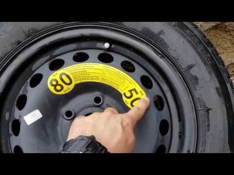Spare Tires are not all created equal