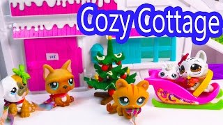 LPS Mommies Cozy Cabin Trip Vacation Littlest Pet Shop Part 4 of 4 Video Series Shopkins Season