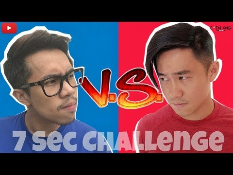 Eden Vs Jian Hao (7 Second Challenge) | Eden Ang