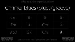 Gambar cover C minor Blues (blues/groove) (Robben Ford) : Backing Track