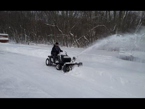 Craftsman 40 Inch Tractor 2 Stage Snow Er Attachment