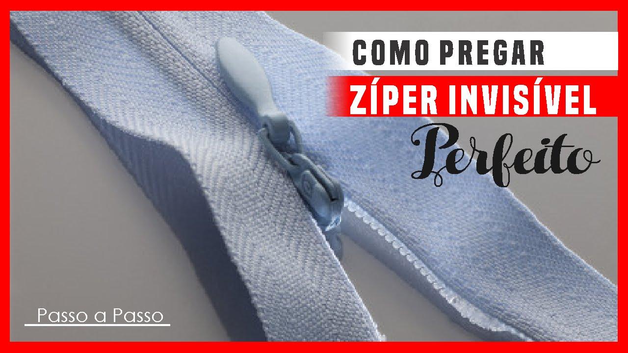 Como Pregar Zíper Invisível