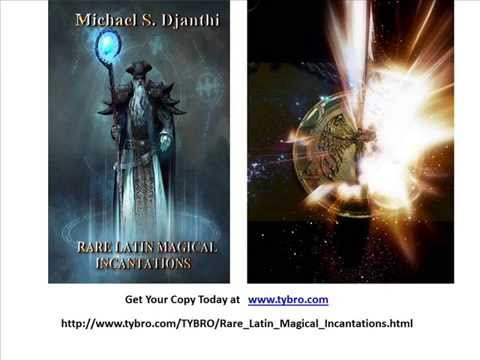 Rare Latin Magical Incantations- A New Book