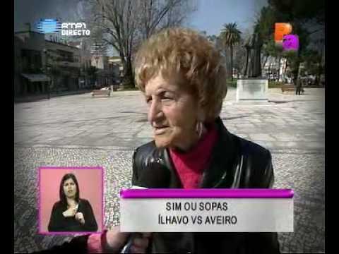 Reportagem - Ílhavo vs Aveiro - Praça Alegria
