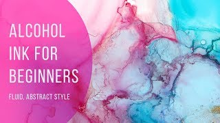 Fluid Art - Alcohol Ink Process Video - Skillshare Tutorial