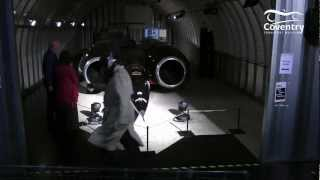 ThrustSSC does the Harlem Shake
