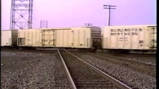 Railfanning Toledo, Ohio - 1993