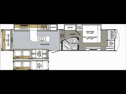 Cardinal RV Floor Plans