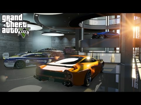 GTA 5 ONLINE HOW TO BUY THE NEW 60 CAR GARAGES!! (IMPORT/EXP