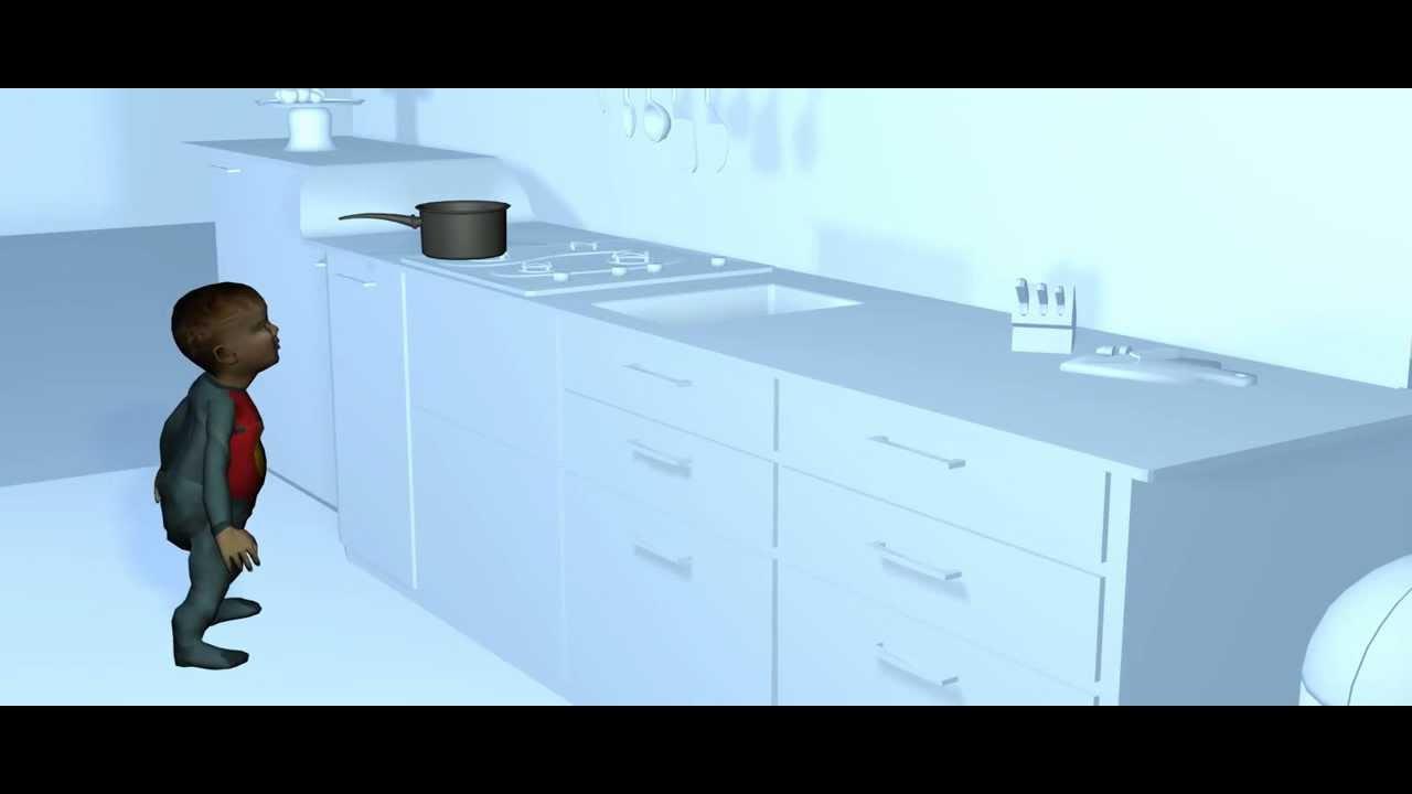 la maison de tous les dangers animation 1 youtube. Black Bedroom Furniture Sets. Home Design Ideas