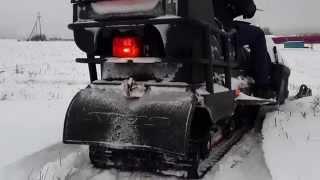 Снегоход Stels S800 Росомаха зима 2013 - 2014