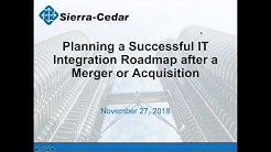 Planning a Successful IT Integration Roadmap after a Merger or Acquisition